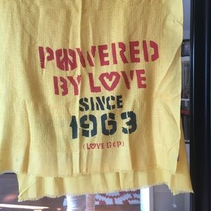 Juicy Couture Powered By Love Scarf Coverup